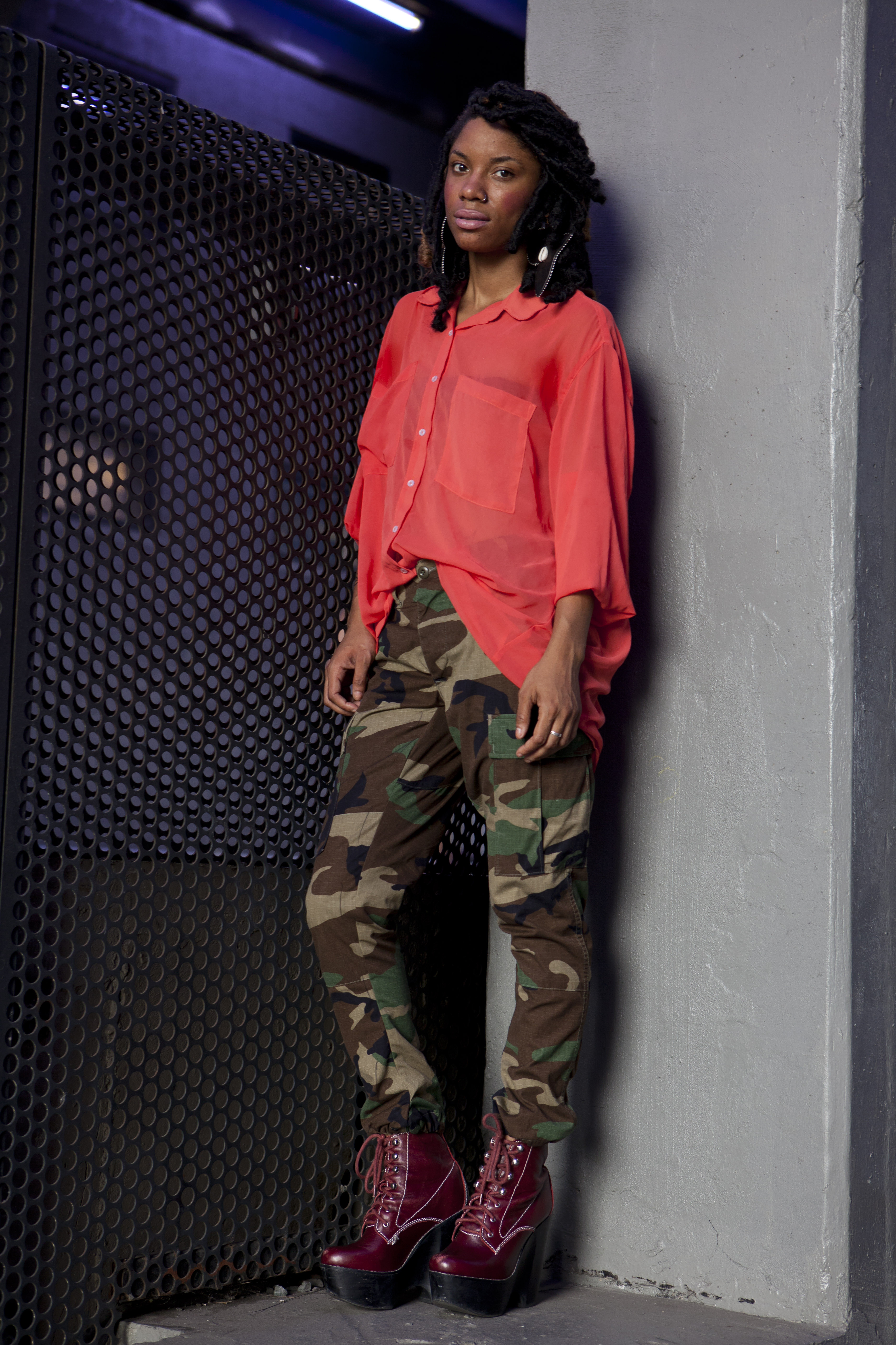 army for and american apparel on